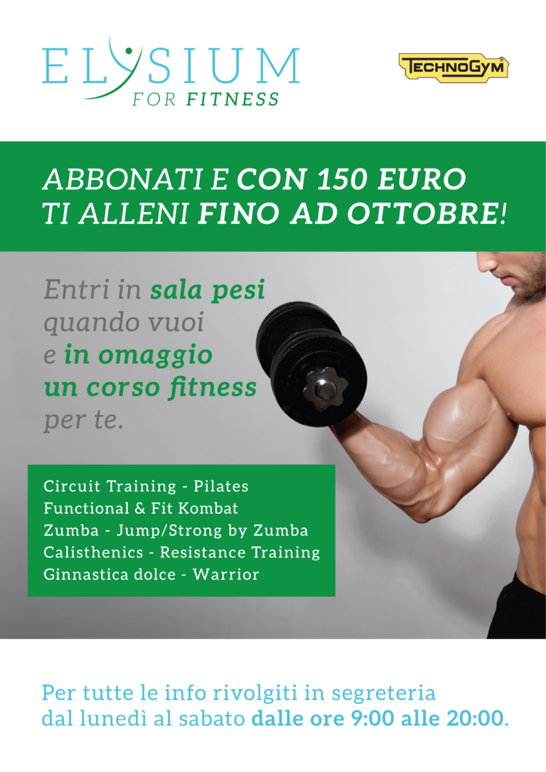 Promo <br> fitness
