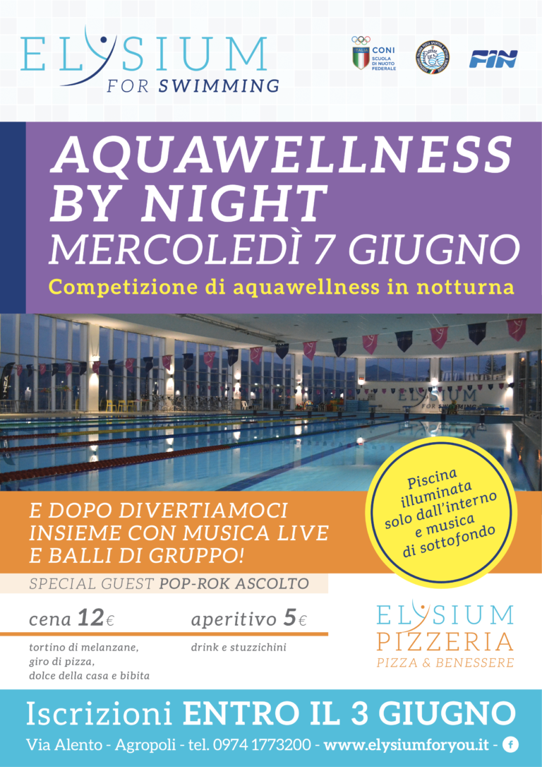 Aqua wellness <br> by night <br>07-06-2017
