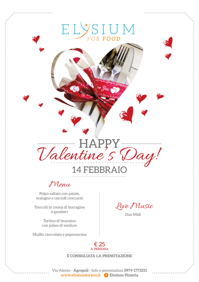 San Valentino <br> con Noi <br> 14-02-2017
